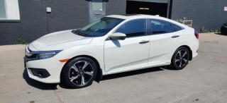 Used 2016 Honda Civic Sedan 4dr CVT Touring for sale in Richmond Hill, ON