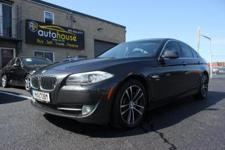 Used 2011 BMW 5 Series M SPORT PKG/XDRIVE/NAV/SUNROOF/ACCIDENT FREE for sale in Newmarket, ON