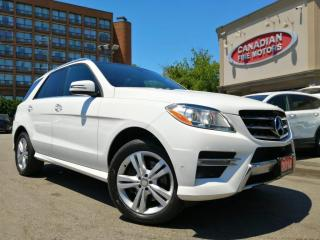 Used 2014 Mercedes-Benz ML 350 CLEAN CARFAX  DIESEL   NAVI   CAM   ROOF   for sale in Scarborough, ON