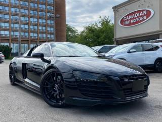 Used 2008 Audi R8 CLEAN CARFAX   NAVI   LEATHER   HEATED SEATS   QUATTRO   for sale in Scarborough, ON