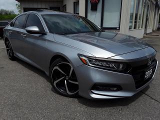 Used 2018 Honda Accord Sport 2.0 - BACK-UP/BLIND-SPOT CAM! SUNROOF! HONDA SENSING! for sale in Kitchener, ON