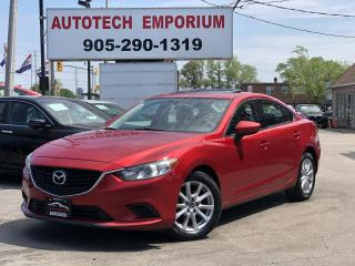 Used 2016 Mazda MAZDA6 GS Navigation/Sunroof/Alloys/Leather for sale in Mississauga, ON
