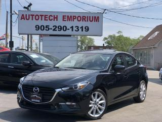 Used 2018 Mazda MAZDA3 GT Grand Touring Navigation/Sunroof/Alloys/Camera for sale in Mississauga, ON