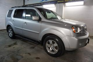 Used 2011 Honda Pilot EX-L 4WD DVD CAMERA CERTIFIED 2YR WARRANTY *ACCIDENT FREE* SUNROOF HEATED LEATHER ALLOYS for sale in Milton, ON