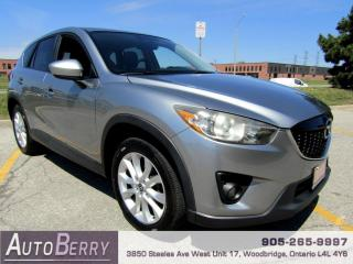 Used 2013 Mazda CX-5 Grand Touring AWD One Owner for sale in Woodbridge, ON