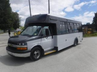 Used 2016 Chevrolet Express G4500 21 Passenger Bus with Wheelchair Accessibility for sale in Burnaby, BC