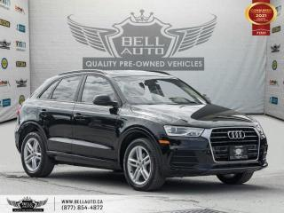Used 2017 Audi Q3 Komfort, AWD, PanoRoof, No Accident, Bluetooth,HeatedSeats for sale in Toronto, ON