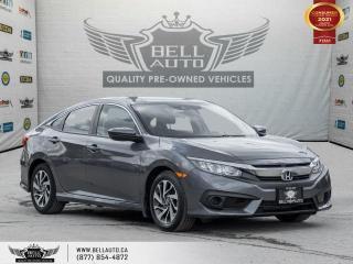 Used 2018 Honda Civic Sedan SE, RearCam, Bluetooth, No Accident, Heated Seat, Lane Asst for sale in Toronto, ON