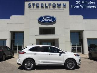 New 2021 Ford Edge Titanium  - Sunroof - Leather Seats for sale in Selkirk, MB