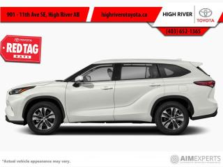 New 2021 Toyota Highlander XLE  - Power Moonroof -  Softex Seats for sale in High River, AB