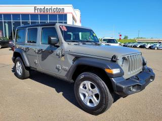 Used 2018 Jeep Wrangler UNLIMITED SPORT for sale in Fredericton, NB