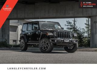 New 2021 Jeep Wrangler Unlimited Rubicon 4xe  - Leather Seats for sale in Surrey, BC