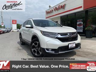 Used 2017 Honda CR-V Touring AWD for sale in Peterborough, ON