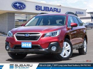 Used 2018 Subaru Outback 2.5i - ONE OWNER ! for sale in Sudbury, ON