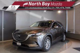 Used 2018 Mazda CX-9 GS-L AWD - Sunroof - Heated Steering Wheel - Heated Seats for sale in North Bay, ON
