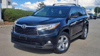 Used 2015 Toyota Highlander LIMITED  for sale in Abbotsford, BC