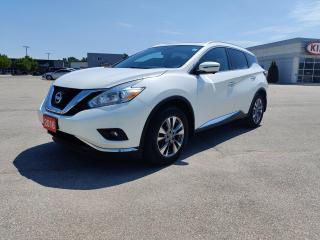 Used 2016 Nissan Murano SL for sale in Owen Sound, ON