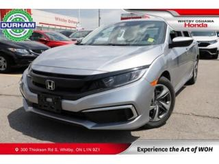 Used 2019 Honda Civic LX | CVT | Android Auto/Apple CarPlay for sale in Whitby, ON