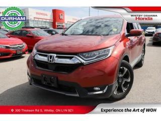 Used 2019 Honda CR-V Touring | CVT | Navigation for sale in Whitby, ON