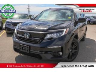 Used 2021 Honda Pilot Black Edition | Automatic | Navigation for sale in Whitby, ON