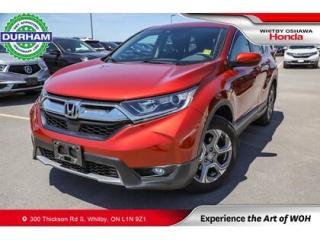 Used 2019 Honda CR-V EX | CVT | Power Moonroof for sale in Whitby, ON