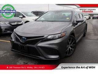Used 2021 Toyota Camry HYBRID SE | eCVT for sale in Whitby, ON