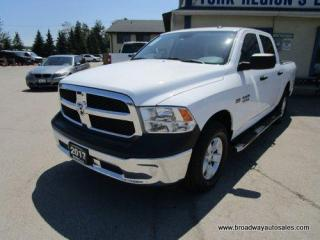 Used 2017 Dodge Ram 1500 LIKE NEW TRADESMEN-EDITION 6 PASSENGER 5.7L - HEMI.. 4X4.. CREW-CAB.. SHORTY.. TOW SUPPORT.. BACK-UP CAMERA.. BLUETOOTH SYSTEM.. KEYLESS ENTRY.. for sale in Bradford, ON