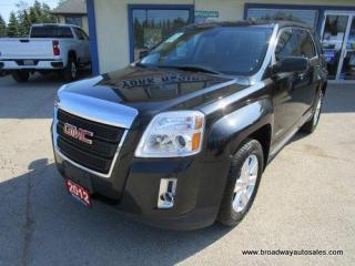 Used 2012 GMC Terrain GREAT VALUE SLE-1-EDITION 5 PASSENGER 2.4L - ECO-TEC.. ECO-MODE-PACKAGE.. BACK-UP CAMERA.. BLUETOOTH SYSTEM.. KEYLESS ENTRY.. for sale in Bradford, ON