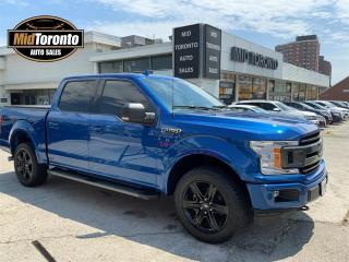 Used 2018 Ford F-150 XLT - LOW Mileage 12,000 km - PERFECT CONDITION - 302A PKG - SPORT PKG - BLACK PKG - NAVI - 3.5 ECO - NO ACCIDENTS for sale in North York, ON