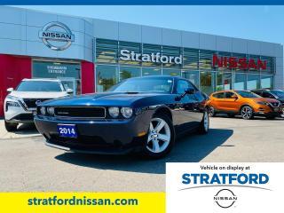 Used 2014 Dodge Challenger SXT for sale in Stratford, ON