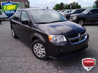 Used 2018 Dodge Grand Caravan CVP/SXT | CLEAN CARFAX | KEYLESS ENTRY | REVERSE CAMERA | for sale in Barrie, ON