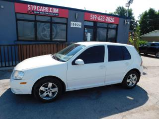 Used 2010 Volkswagen City Golf No Accidents | A\C | Cruise | Heated Seats for sale in St. Thomas, ON