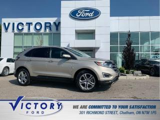 Used 2017 Ford Edge Titanium | PANORAMIC SUNROOF | HEATED AND COOLED S for sale in Chatham, ON