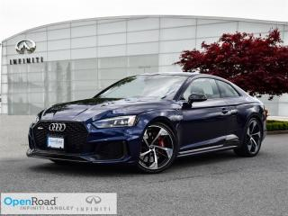 Used 2018 Audi RS 5 quattro 8sp Tiptronic for sale in Langley, BC