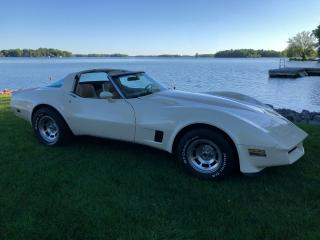 Used 1980 Chevrolet Corvette Manual  with T  Bar Roof  Only 140000 km for sale in Perth, ON
