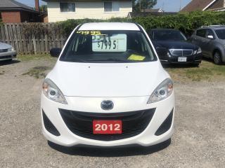 Used 2012 Mazda MAZDA5 GS for sale in Hamilton, ON
