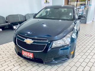 Used 2014 Chevrolet Cruze 1LT AUTO 1.4L CERTIFIED $4999 for sale in Brampton, ON