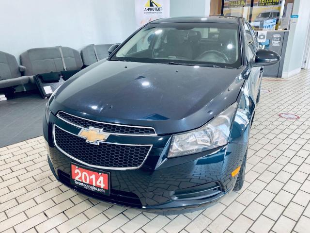 2014 Chevrolet Cruze 1LT AUTO 1.4L CERTIFIED $4999
