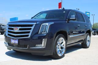 Used 2019 Cadillac Escalade Premium Luxury for sale in Tilbury, ON