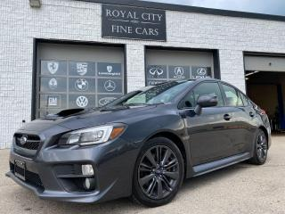 Used 2016 Subaru WRX Sport 6-Speed Clean Carfax Blind Spot Monitoring for sale in Guelph, ON