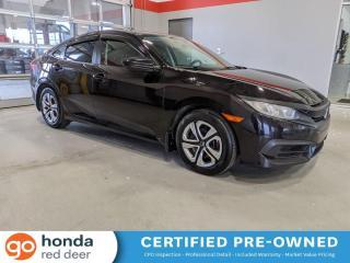 Used 2016 Honda Civic SEDAN LX for sale in Red Deer, AB
