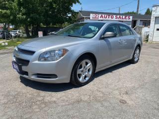 Used 2011 Chevrolet Malibu Automatic/4 Cylinder Gas Saver/Comes Certified for sale in Scarborough, ON