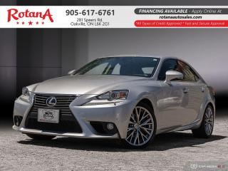 Used 2014 Lexus IS 250 _AWD_Navi_Rear Cam_Leather_Sunroof_BT for sale in Oakville, ON