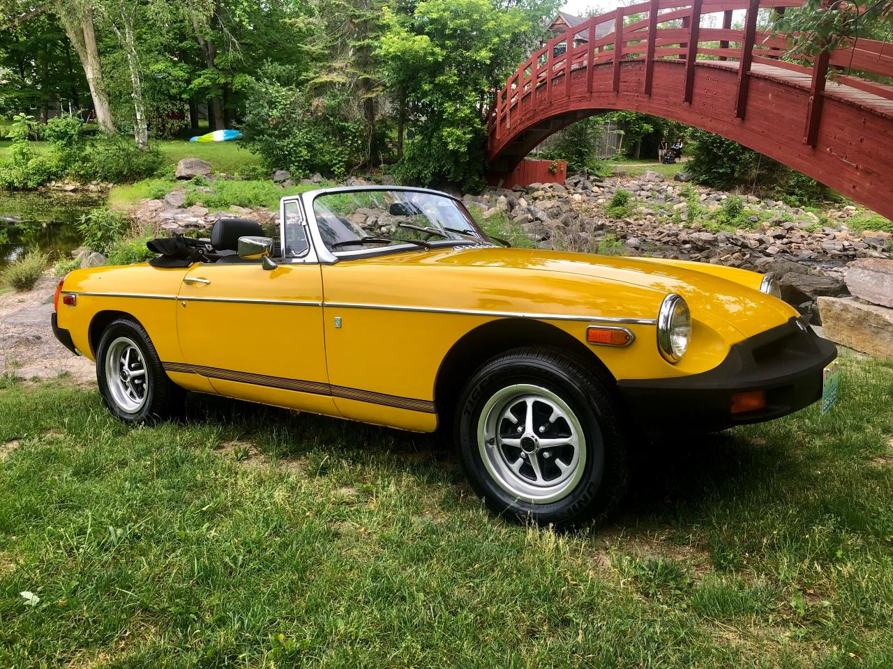 1978 MG MGB MG  with only 52000 miles Original paint