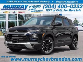 New 2021 Chevrolet TrailBlazer Heated Seats, Wifi, Bluetooth, Lane Keep Assist for sale in Brandon, MB