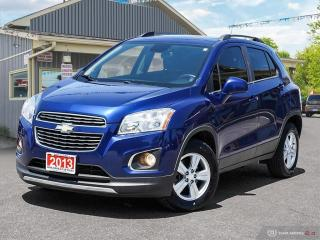 Used 2013 Chevrolet Trax LT,AWD,REMOTE START,R/V CAM,PWR S/ROOF for sale in Orillia, ON