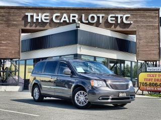 Used 2015 Chrysler Town & Country Touring-L for sale in Sudbury, ON