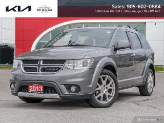 Used 2013 Dodge Journey R/T 7 SEATS // NAV // CAM // LEATHER for sale in Mississauga, ON