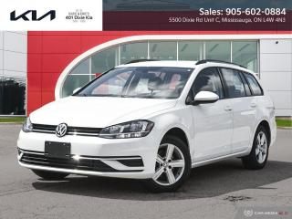 Used 2018 Volkswagen Golf Sportwagen 1.8 TSI Comfortline AWD // CAM // HEATED SEATS for sale in Mississauga, ON