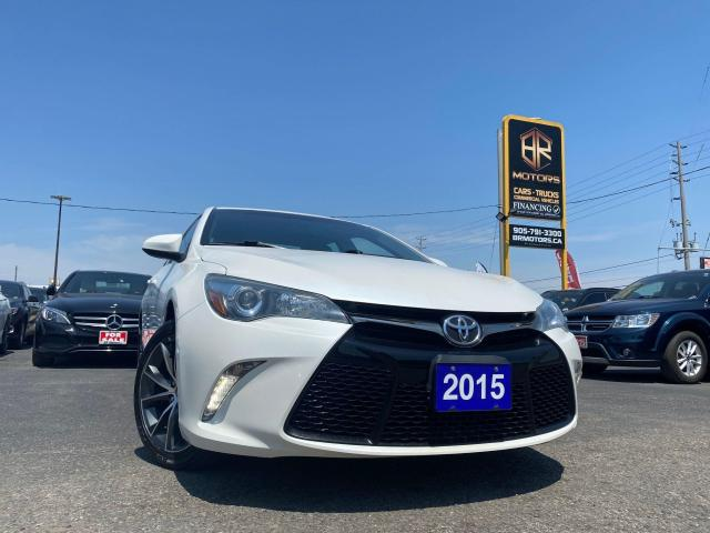 2015 Toyota Camry No Accidents   Low Km's  XSE   Sun roof  Certified